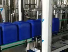 25公斤全自动直线式灌装机