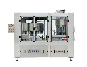 GCP24-6型全自动高精度灌装、旋盖二联机