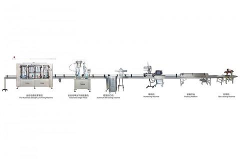 玻璃水防冻液灌装线